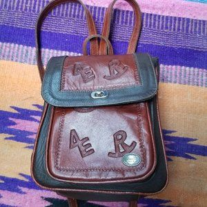 American West Leather Backpack/Purse